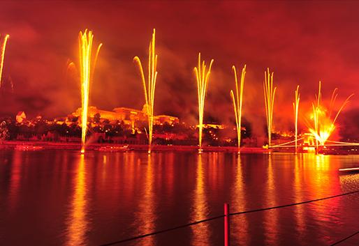 Augusztus 20-i tűzijáték, Budapest X