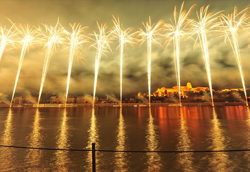 Augusztus 20-i tűzijáték, Budapest IX