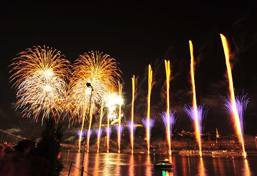 Augusztus 20-i tűzijáték, Budapest VII