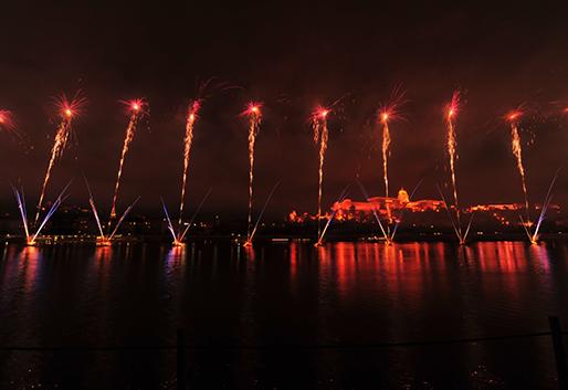 Augusztus 20-i tűzijáték, Budapest IV