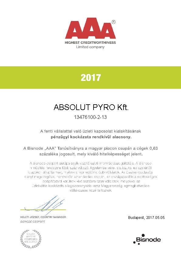 AAA creditworthy 2017
