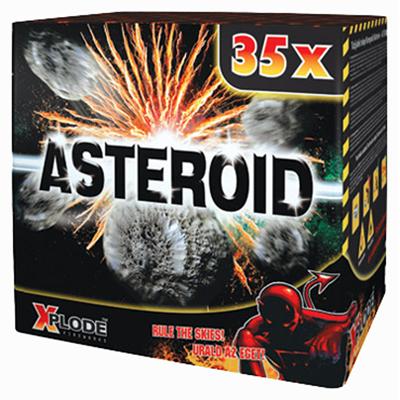 ASTEROID 35 shots