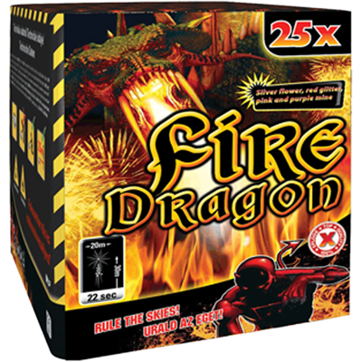 FIRE DRAGON 25 shots