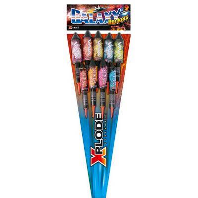 GALAXY ROCKET PACK (9 rockets)
