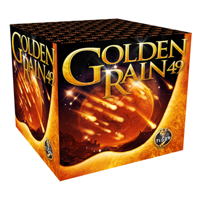 GOLDEN RAIN 49 shots