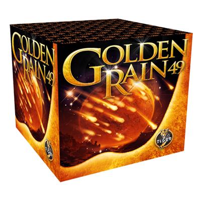 GOLDEN RAIN 49 shots