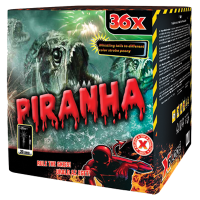 PIRANHA 36 shots