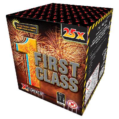 FIRST CLASS 25 shots