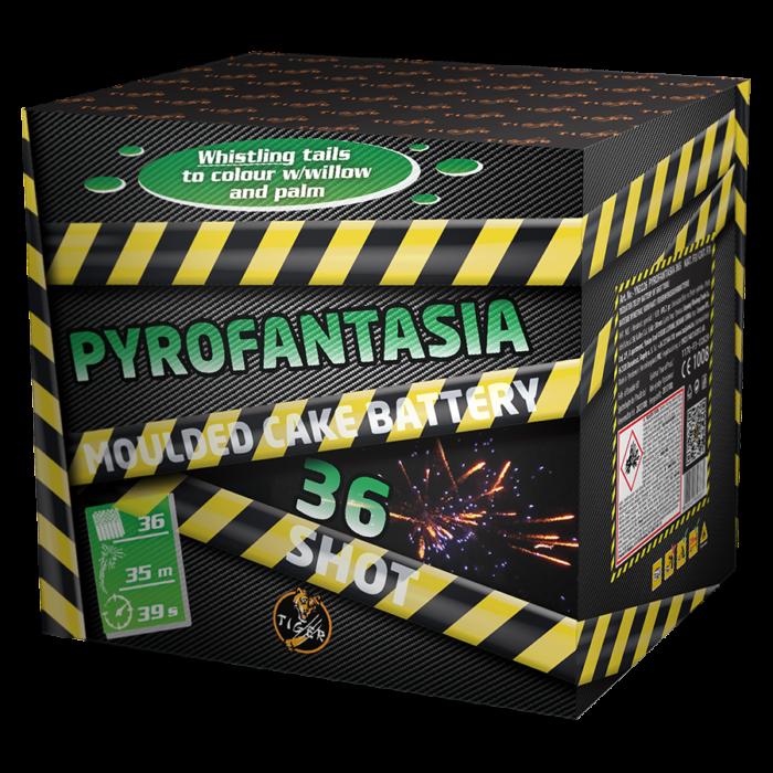 PYROFANTASIA 36 shots