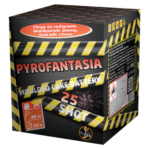 PYROFANTASIA 25 shots