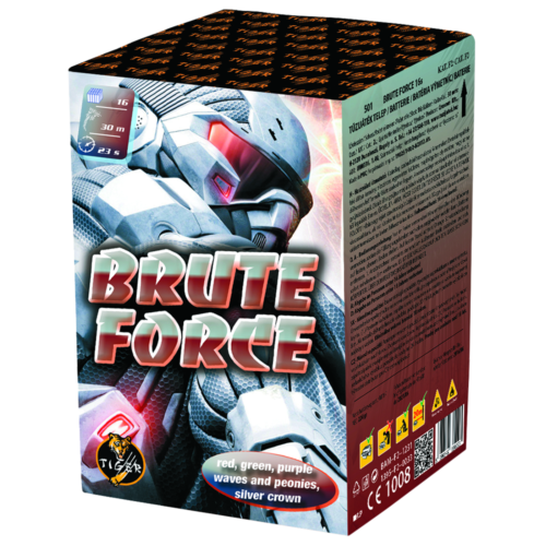 BRUTE FORCE 16 shots