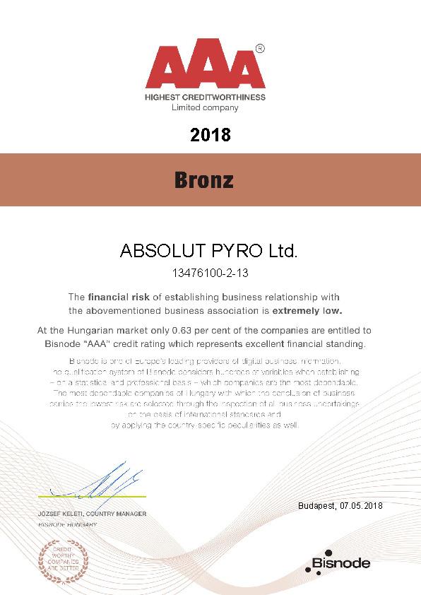 AAA credithworthy 2018