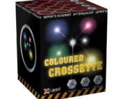 COLOURED CROSSETTE 16 shots