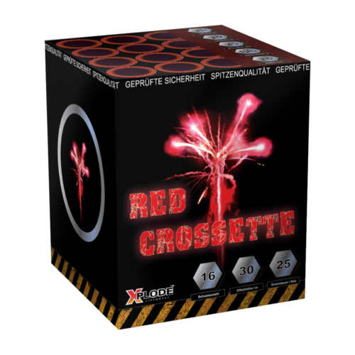 RED CROSSETTE 16 shots