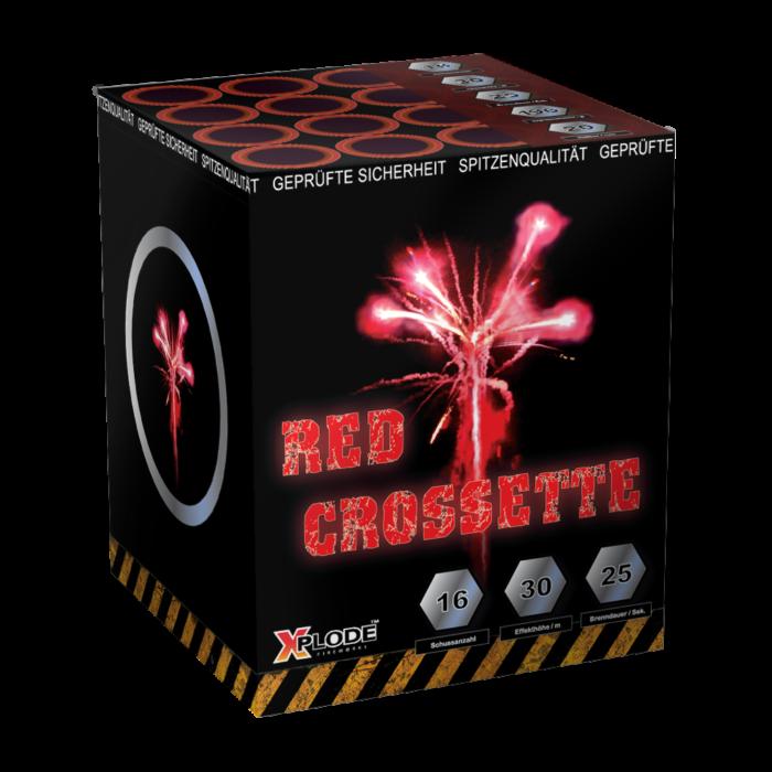 RED CROSSETTE 16 shots