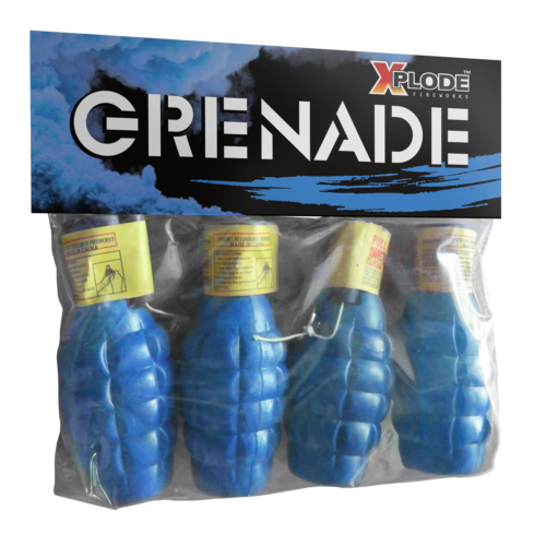 GRENADE (blue smoke)