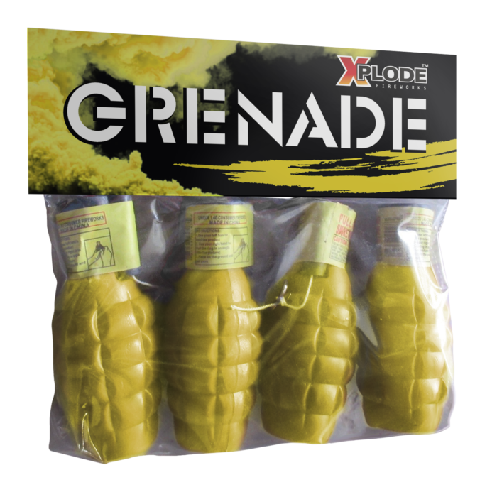 GRENADE (yellow smoke)